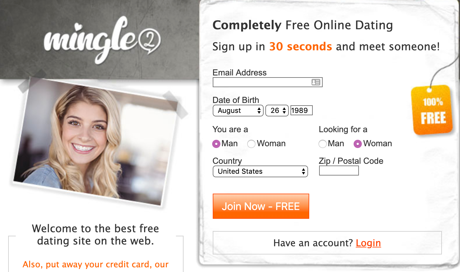 Sites like mingle2